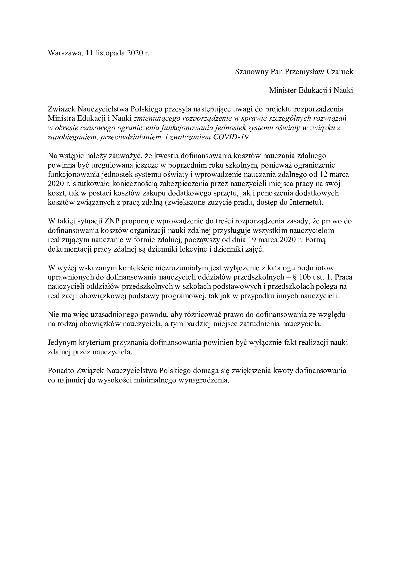 opinia-ZNP-do-projektu-rozporządzenia-500zł-dla-nauczycieli-2-1