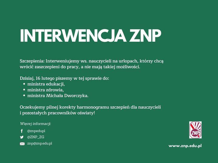 znp interwencja 16 lutego